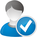 User Accept - icon gratuit #192227