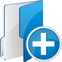 Folder Add - icon #192507 gratis