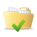Open Folder Accept - icon gratuit #193017