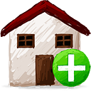 Home Add - icon #193167 gratis