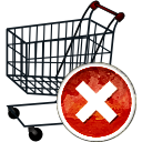 Shopping Cart Remove - Kostenloses icon #194167