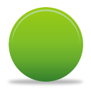 Green Button - icon gratuit #194337