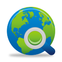 Search Globe - icon gratuit #194637