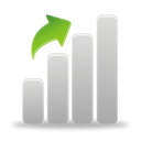 Chart Up - icon #194807 gratis