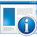 Application Info - icon #195187 gratis