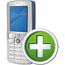 Mobile Phone Add - icon gratuit #195487