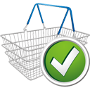 Shopping Cart Accept - Kostenloses icon #195667