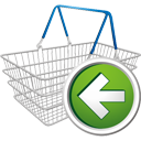Shopping Cart Previous - Kostenloses icon #195677