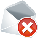 Mail Remove - icon gratuit #196077