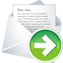 Forward New Mail - Free icon #196287