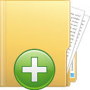 Folder Add - icon #196377 gratis