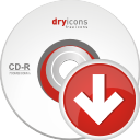 Cd Down - icon gratuit #196687