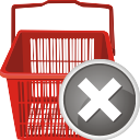 Shopping Cart Remove - Kostenloses icon #196697