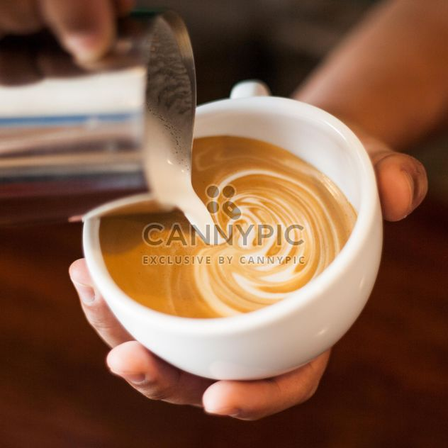 Latte coffee art - image gratuit #197837