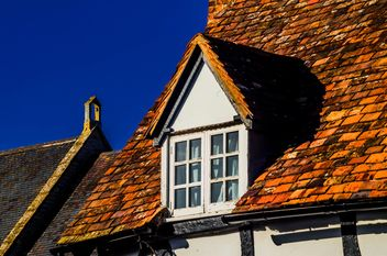 Roof of traditional English cottage - бесплатный image #198337