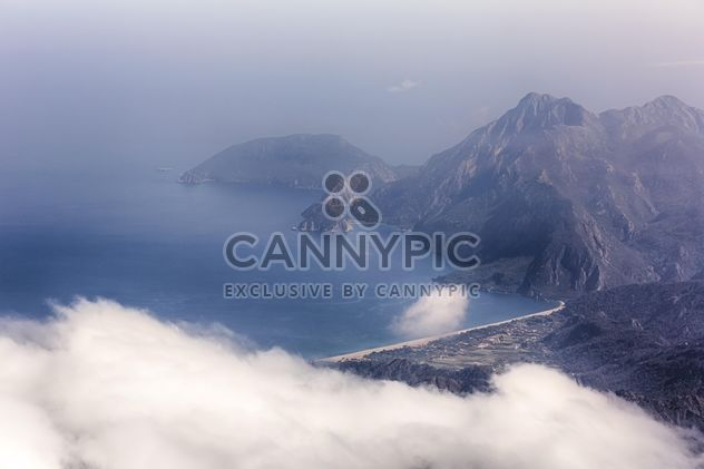 #turkey #tahtali #mountains #rocky #rock #fog #clouds #nature #coast #seascape #landscape #seaside #island #sea #sky - Kostenloses image #198637