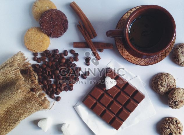 Cup of coffee with cinnamon - Free image #198747