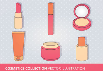 Cosmetics Vector Collection - vector gratuit #199187