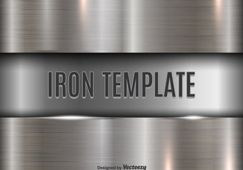 Iron template - vector gratuit #199217