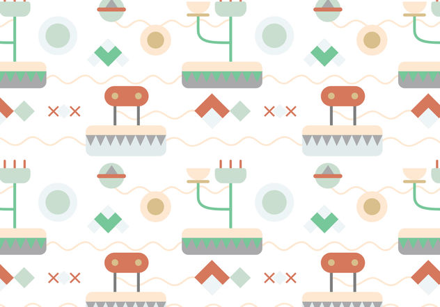 Abstract pattern background - vector #199397 gratis