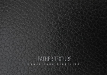 Leather texture background - vector gratuit #199477