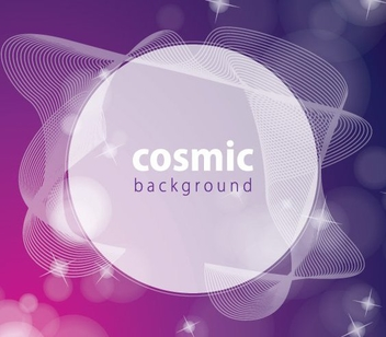 Spiral Lines Colorful Cosmic Background - Free vector #199797