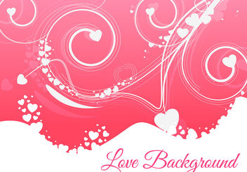 Floral love style colorful vector - vector #199957 gratis