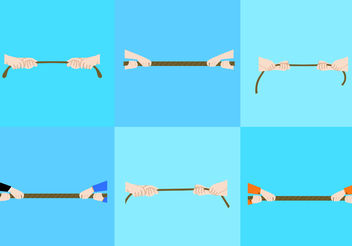 Tug of War - vector #200127 gratis