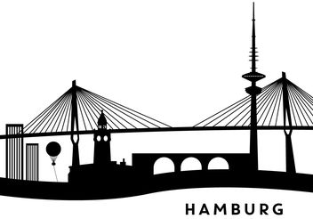 Hamburg Buildings - Free vector #200217