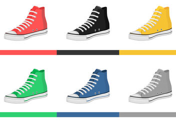Mens Shoes Vectors - vector #200287 gratis