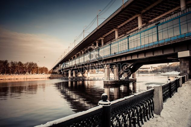 Bridge across the Moscow River - Free image #200737