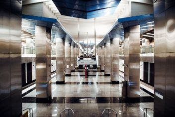 Interior of Moscow subway station - бесплатный image #200747