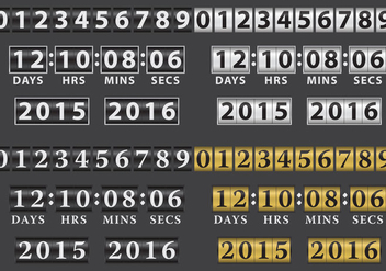 Vector Cylinder Counters - Free vector #201257
