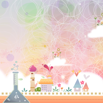Fairytale Landscape Two - Free vector #202127
