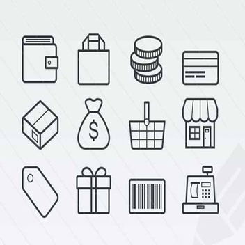 Free Vector Ecommerce Icons - vector #202287 gratis