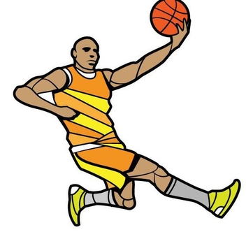 Free Vector Basketball Player - бесплатный vector #202377