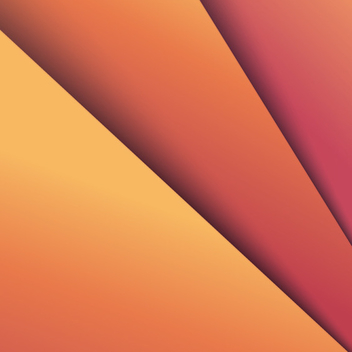 Orange Gradient Background Vector - vector #202487 gratis