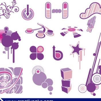 Creative Design Elements - Kostenloses vector #202677
