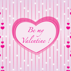 Be My Valentine Vector - Free vector #202897