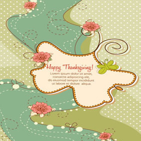 Free Thanksgiving Illustration #4 - Free vector #203037