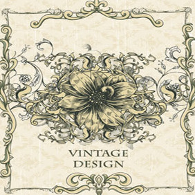 Free Vector Vintage Design Illustration - бесплатный vector #203067