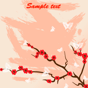 Japanese Illustration 1 - vector #203187 gratis