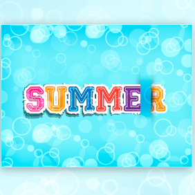 Summer Vector Illustration - Free vector #203317