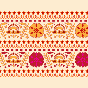 Indian Pattern -2 - Kostenloses vector #203347