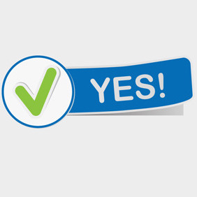 Free Vector Of The Day #106: Approval Sign - Free vector #203797