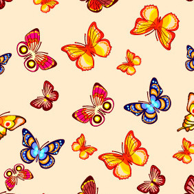 Seamless Pattern 206 - Free vector #203807