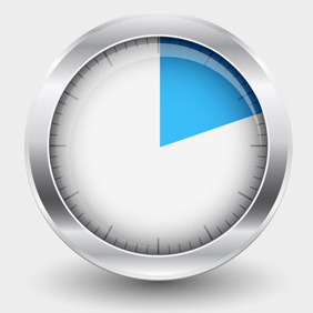 Free Vector Of The Day #101: Timer - vector gratuit #203837