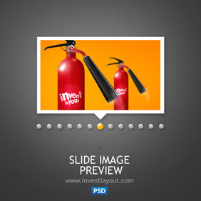 Slide Image Preview - vector gratuit #203967