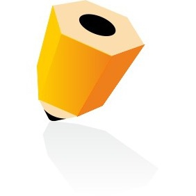 3d Pencil Icon - Free vector #204027