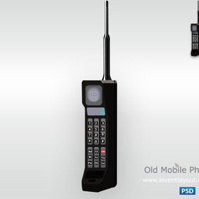 Old Mobile Phone - vector gratuit #204117